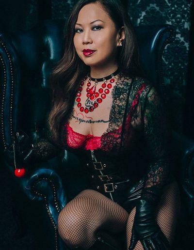 London Asian Dominatrix Madame Li Ying